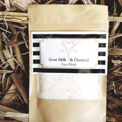 Goat Milk and Oatmeal Mask